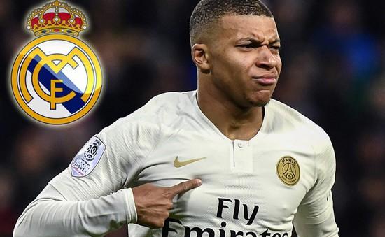 """Mbappe công khai """"tỏ tình"""" với Real Madrid"""