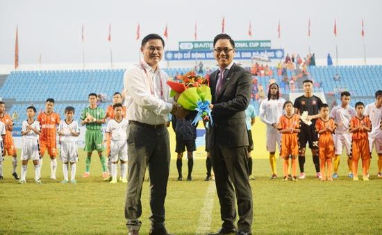 Giải bóng đá Cúp Quốc gia 2019 chính thức khai mạc với nhà tài trợ mới