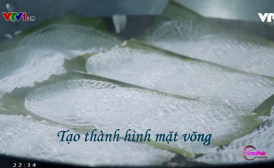 Thưởng thức bánh hỏi mặt võng - Đặc sản miền Tây