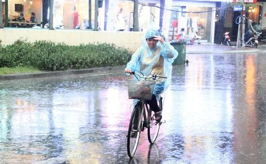 Trời chuyển mưa rào bất chợt tại các tỉnh từ Thanh Hóa - Hà Tĩnh