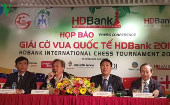 300 kỳ thủ tranh tài tại giải Cờ vua Quốc tế HDBank 2019