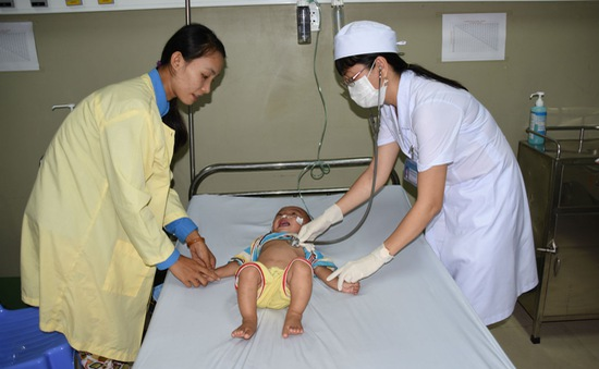 Cà Mau: Bệnh sởi, sốt xuất huyết và tay chân miệng tăng cao
