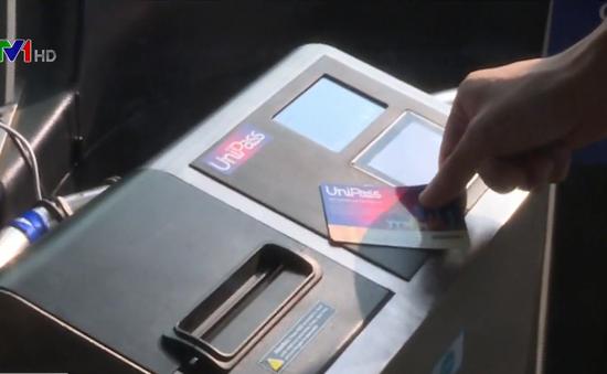 Triển khai thí điểm thanh toán tự động dành cho xe bus