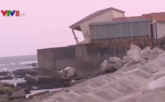 Đề xuất xây đảo nhân tạo để chống sạt lở biển Cửa Đại