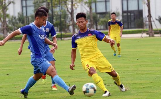 U18 Việt Nam đấu tập với CLB Phố Hiến và U19 PVF: Bài kiểm tra chất lượng