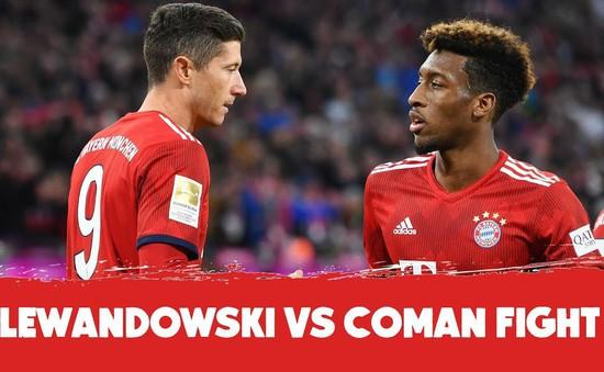 Bayern Munich: Lewandowski và Coman ẩu đả trên sân tập