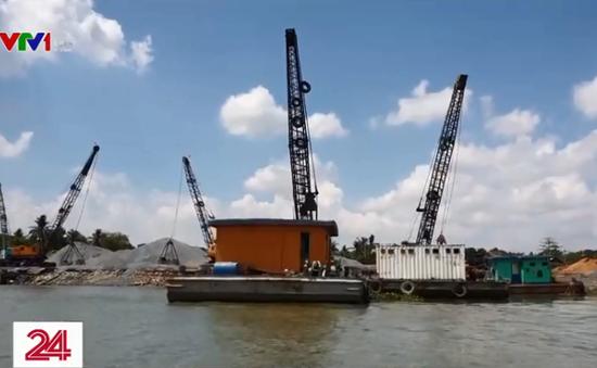 UBND quận 9 (TP.HCM) thừa nhận có tình trạng bến thủy nội địa là nơi tập kết cát lậu