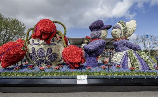 Mãn nhãn với cuộc diễu hành xe hoa tại Hà Lan