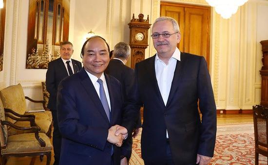 Thủ tướng Nguyễn Xuân Phúc đánh giá cao sự đóng góp của Hạ viện Romania
