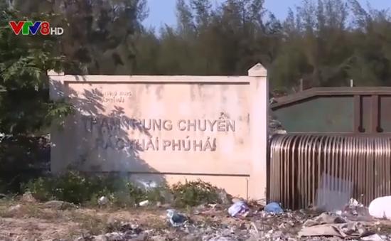 Thừa Thiên Huế: Trạm trung chuyển rác gần 10 tỷ đồng bị bỏ hoang