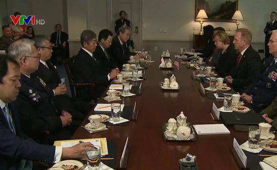 Mỹ, Nhật Bản nhất trí tăng cường hợp tác quốc phòng trong không gian mạng