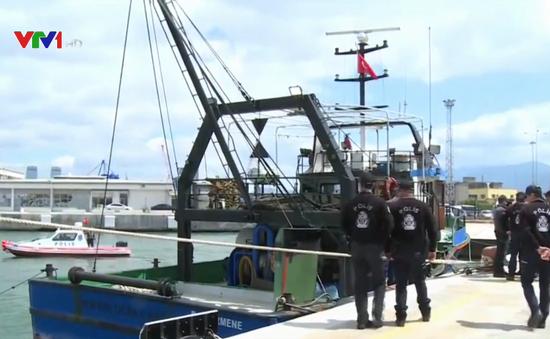 Thổ Nhĩ Kỳ bắt được tàu chở 5 tấn cần sa
