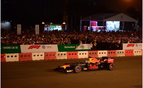 """Khán giả Thủ đô mãn nhãn cùng """"Khởi động Formula 1 Việt Nam Grand Prix"""""""