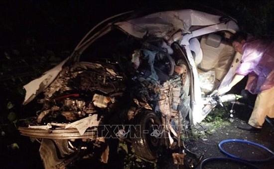 Tai nạn giao thông nghiêm trọng tại Hòa Bình, 2 người thiệt mạng