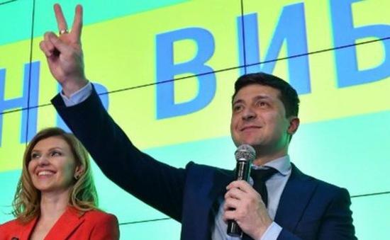 Ông Zelensky thắng cử Tổng thống Ukraine