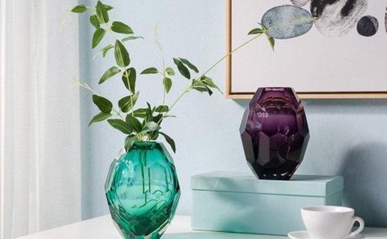 Làm mới nhà cửa bằng bình thủy tinh cắm hoa