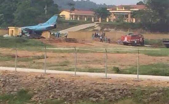 Máy bay Su 22 gặp nạn tại Yên Bái