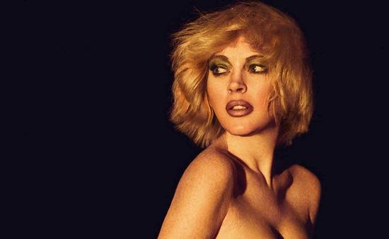 Lindsay Lohan đầy khác lạ trên Slimi tháng 4