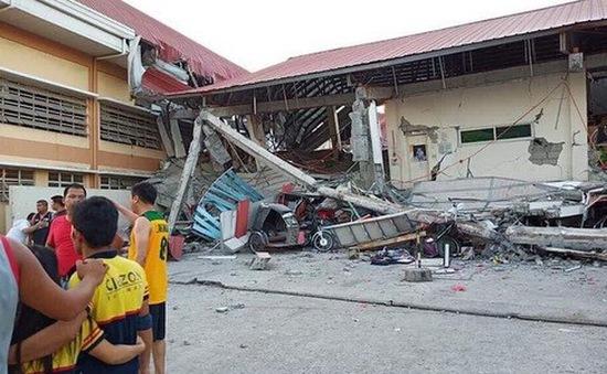 Động đất tại Philippines, ít nhất 5 người thiệt mạng