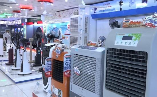 Nắng nóng, sức mua hàng điện lạnh tăng 30%