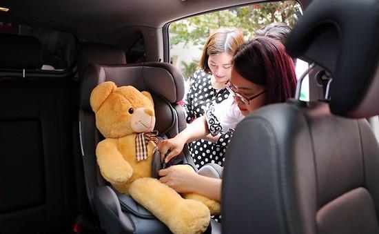 Người dân ý thức hơn trong việc thực hiện cài dây an toàn trên ô tô