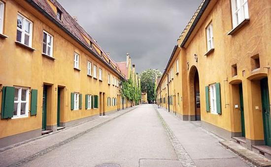 Ngỡ ngàng với khu nhà xinh xắn nơi giá thuê không tăng từ cách đây 500 năm tại Đức