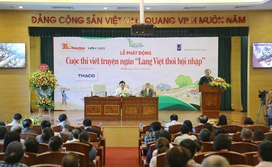 """Phát động cuộc thi viết truyện ngắn """"Làng Việt thời hội nhập"""""""