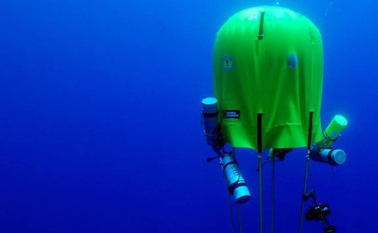Lều dưới nước - chìa khóa hiện thực hóa giấc mơ dã ngoại ở… đại dương