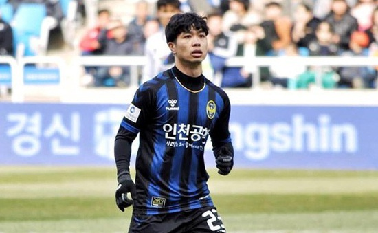 Thi đấu trọn 90 phút, Công Phượng không thể cứu Incheon United khỏi thất bại