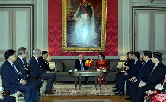 Bỉ mong muốn tăng cường hơn nữa quan hệ hợp tác với Việt Nam