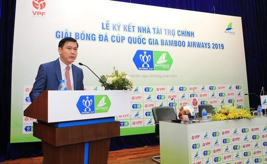Từ vụ cầu thủ Cần Thơ đá phản lưới nhà, VPF quyết làm trong sạch Cúp Quốc gia 2019