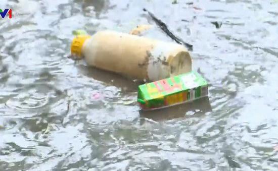 Thác Cam Ly (Đà Lạt) bị ô nhiễm nghiêm trọng