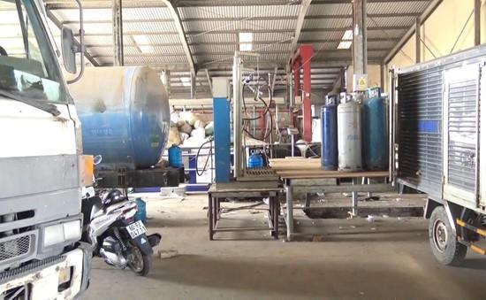 Bắt quả tang cơ sở sang chiết gas lậu quy mô lớn tại Đồng Nai