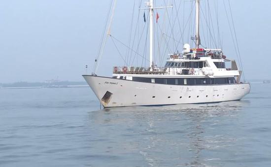 Quảng Trị đón du thuyền nước ngoài đầu tiên đến du lịch năm 2019