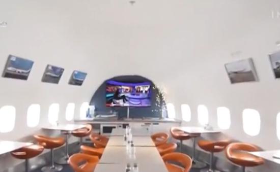 Khách sạn bên trong máy bay Boeing 747