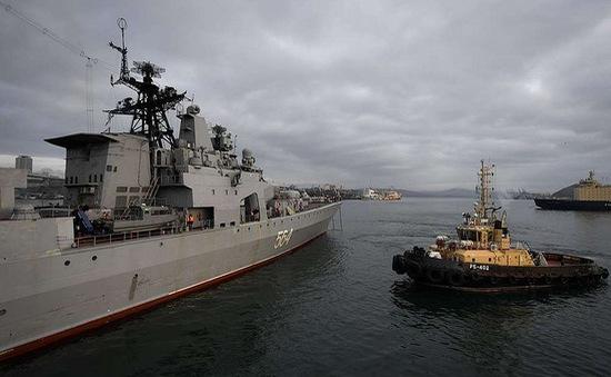 Diễn tập hải quân Nga - Philippines