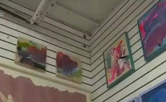 Bức tranh của họa sĩ nhí 2 tuổi trị giá hơn 1.000USD