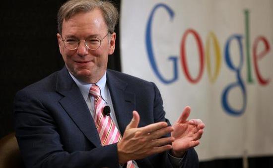 """Google tạm biệt """"thuyền trưởng"""" Eric Schmidt"""