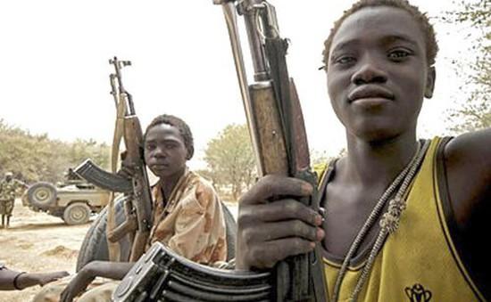 Hàng nghìn lính trẻ em được trả tự do ở Nigeria