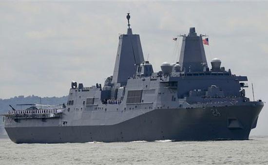Mỹ điều thêm phương tiện quân sự tới Trung Đông
