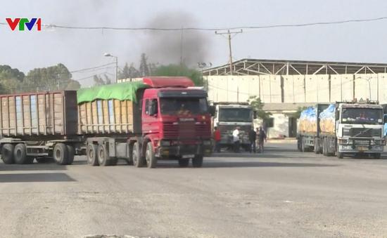Israel mở lại các cửa khẩu tại Dải Gaza