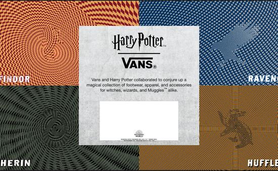 Lộ hình ảnh đầu tiên trong bộ sưu tập giày Harry Porter của Vans