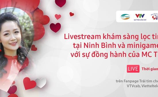 TRỰC TIẾP Trái tim cho em: Quy trình khám sàng lọc tim bẩm sinh cho trẻ em tại tỉnh Ninh Bình
