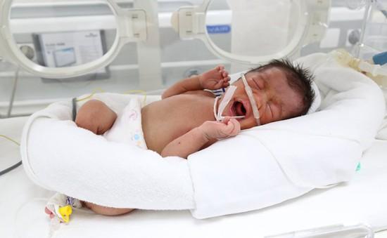 Bé sinh non 1,5kg bị bỏ rơi trên đê ở Phú Thọ