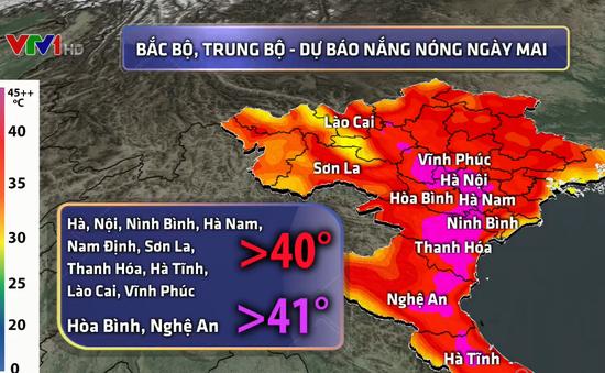 Ngày mai (19/5), Hà Nội nắng nóng đặc biệt gay gắt, với nền nhiệt trên 40 độ C