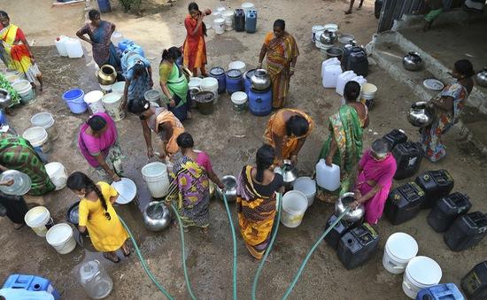 600 triệu người dân Ấn Độ thiếu nước sinh hoạt