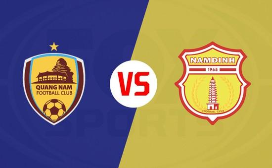 CLB Quảng Nam 1-1 Dược Nam Hà Nam Định: Kịch tính phút bù giờ