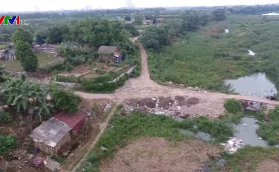 Kiểm tra xử lý việc lấn chiếm sông Hồng