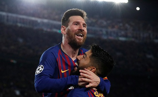 Chấm điểm Barcelona 3-0 Liverpool: Messi điểm 9, Suarez 8,5