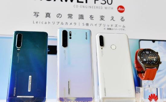 Ngừng bán điện thoại Huawei tại Nhật Bản
